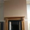 Plastering chimney breast